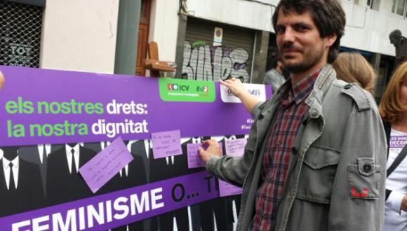 Ernest Urtasun reclama un instrument legislatiu específic contra la violència masclista a Europa