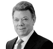 Comparaixença al PE de Juan Manuel Santos, President Colòmbia