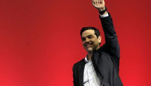 """Urtasun a Tsipras: """"Gràcies per obrir una porta d'esperança als pobles d'Europa i resistir al xantatge de la Troika"""""""