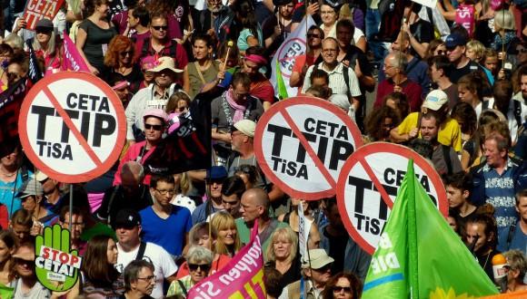 ICV vota en contra del CETA i demana que continuï la mobilització durant el procés de ratificació