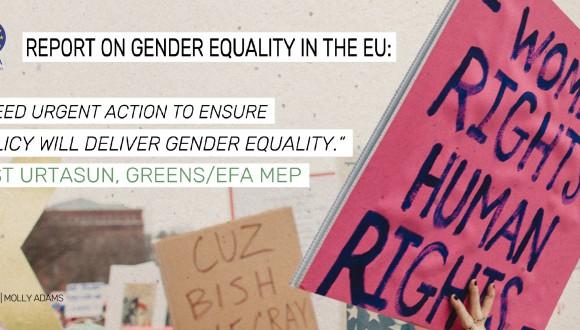 El Parlament Europeu alerta sobre l'estancament de la Igualtat de Gènere a la UE