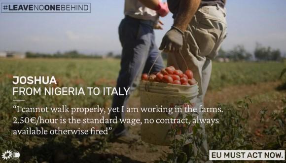 Los verdes piden un nuevo Código Europeo para repensar la política migratoria