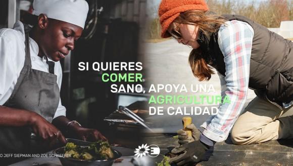 Apoyamos la agricultura de calidad