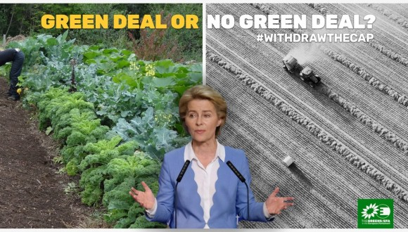 Pedimos a Ursula von der Leyen que salve al European Green Deal retirando la PAC